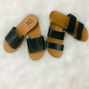 Billabong and Reef sandals bundle